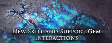 New Skill and Support Gem Interactions
