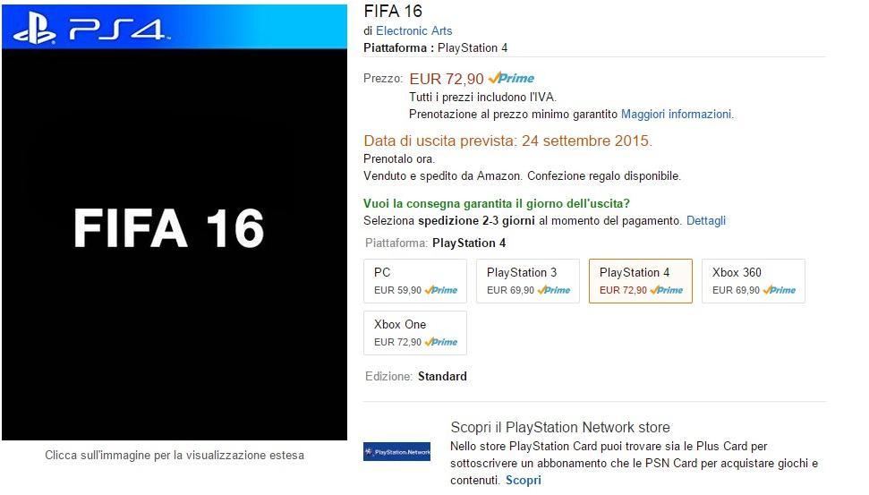 FIFA 16 Amazon 1